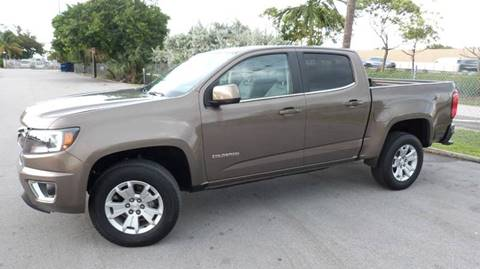 2016 Chevrolet Colorado for sale at Quality Motors Truck Center in Miami FL