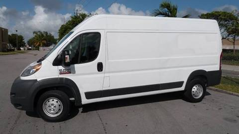2016 RAM ProMaster Cargo for sale at Quality Motors Truck Center in Miami FL