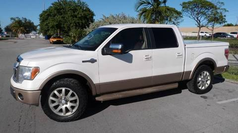 2011 Ford F-150 for sale at Quality Motors Truck Center in Miami FL