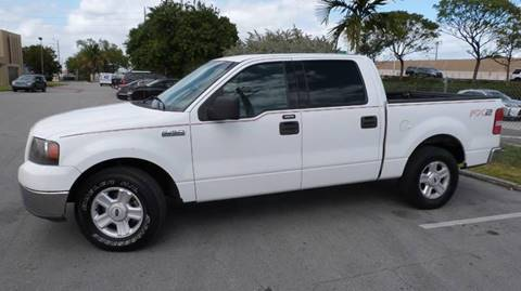 2004 Ford F-150 XLT for sale at CLASSIC CARS AUTO SALE in Miami FL
