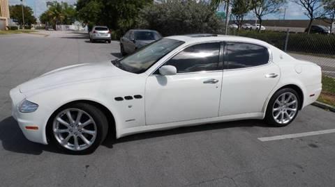 2008 Maserati Quattroporte for sale at Quality Motors Truck Center in Miami FL