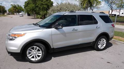 2012 Ford Explorer XLT for sale at CLASSIC CARS AUTO SALE in Miami FL