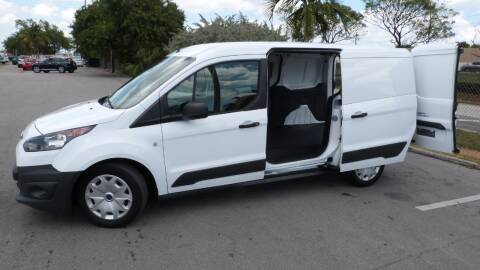 2016 Ford Transit Connect Cargo XL for sale at CLASSIC CARS AUTO SALE in Miami FL