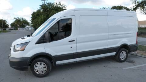 2016 Ford Transit Cargo 250 for sale at CLASSIC CARS AUTO SALE in Miami FL