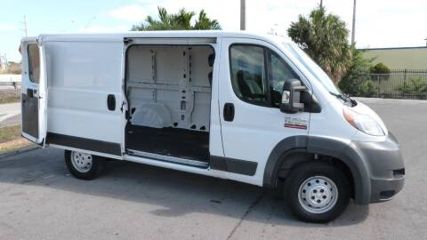 2015 RAM ProMaster Cargo 1500 136 WB for sale at CLASSIC CARS AUTO SALE in Miami FL