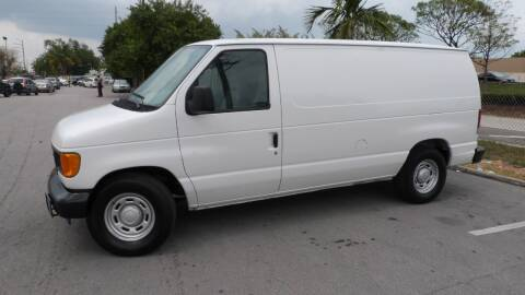 2006 Ford E-Series Cargo for sale at Quality Motors Truck Center in Miami FL