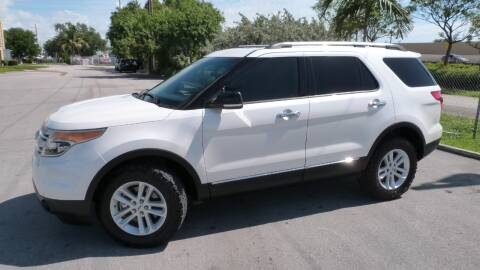 2012 Ford Explorer for sale at Quality Motors Truck Center in Miami FL