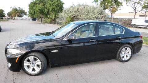 2012 BMW 5 Series for sale at Quality Motors Truck Center in Miami FL
