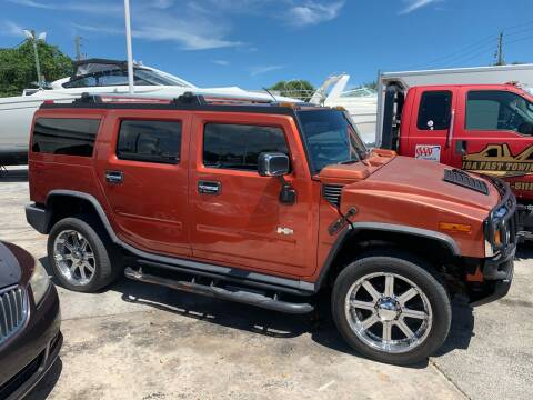 2003 HUMMER H2 for sale at Quality Motors Truck Center in Miami FL