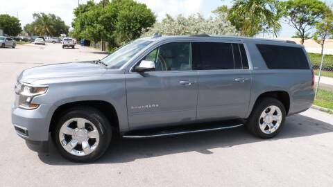 2015 Chevrolet Suburban for sale at Quality Motors Truck Center in Miami FL