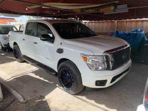 2017 Nissan Titan for sale at Quality Motors Truck Center in Miami FL