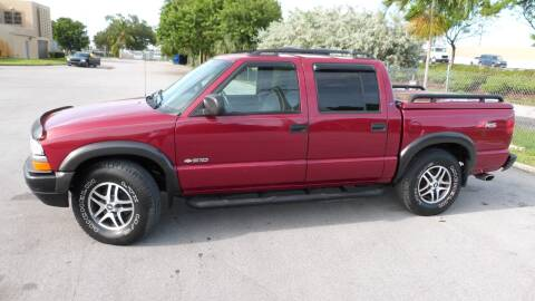 2004 Chevrolet S-10 for sale at Quality Motors Truck Center in Miami FL