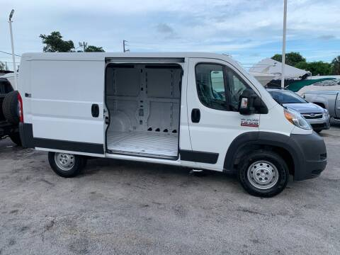 2014 RAM ProMaster Cargo for sale at Quality Motors Truck Center in Miami FL