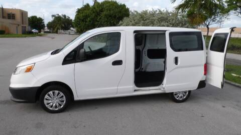 2016 Chevrolet City Express Cargo for sale at Quality Motors Truck Center in Miami FL