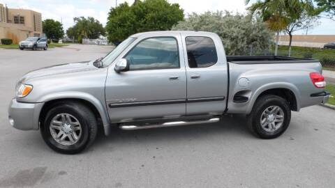 2003 Toyota Tundra for sale at Quality Motors Truck Center in Miami FL