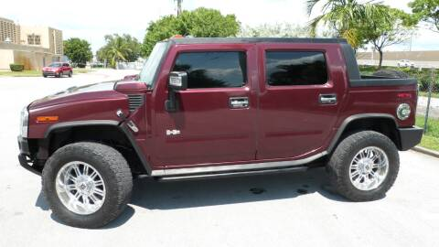 2007 HUMMER H2 SUT for sale at Quality Motors Truck Center in Miami FL