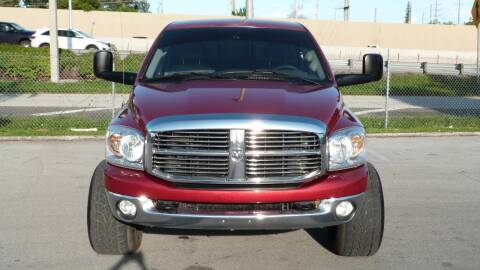 2008 Dodge Ram Pickup 2500 for sale at Quality Motors Truck Center in Miami FL