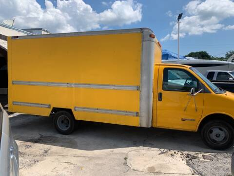 2002 GMC Savana Cutaway for sale at Quality Motors Truck Center in Miami FL