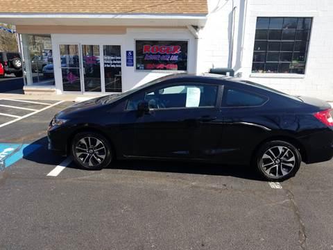 2013 Honda Civic for sale in Jewett City, CT