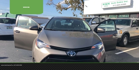 2017 Toyota Corolla for sale at K&N Auto Sales in Tampa FL