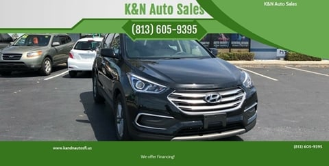 2018 Hyundai Santa Fe Sport for sale at K&N Auto Sales in Tampa FL