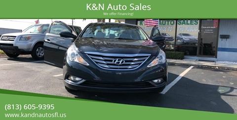 2013 Hyundai Sonata for sale at K&N Auto Sales in Tampa FL