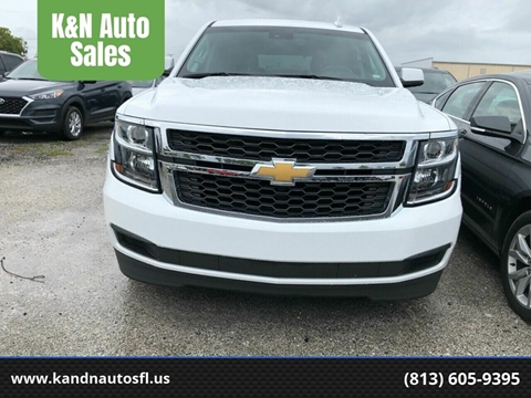 2019 Chevrolet Tahoe for sale at K&N Auto Sales in Tampa FL