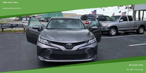 2018 Toyota Camry for sale at K&N Auto Sales in Tampa FL