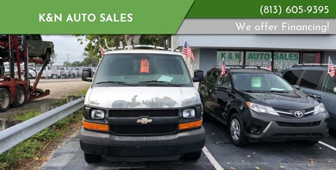 2011 Chevrolet Express Cargo for sale at K&N Auto Sales in Tampa FL