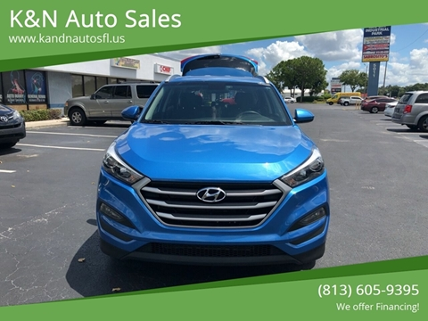 2018 Hyundai Tucson for sale at K&N Auto Sales in Tampa FL