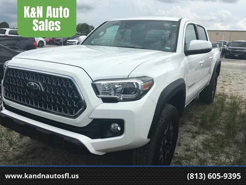 2019 Toyota Tacoma for sale at K&N Auto Sales in Tampa FL