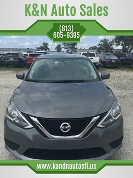 2018 Nissan Sentra for sale at K&N Auto Sales in Tampa FL