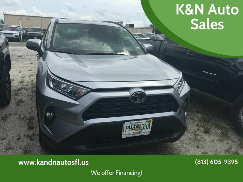 2019 Toyota RAV4 for sale at K&N Auto Sales in Tampa FL