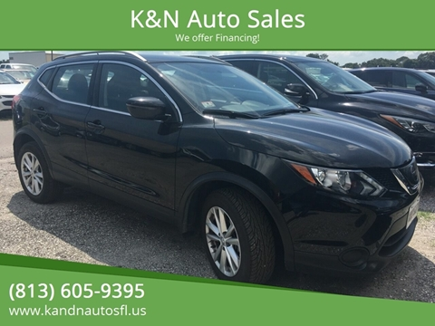 2018 Nissan Rogue Sport for sale at K&N Auto Sales in Tampa FL