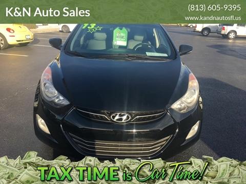 2013 Hyundai Elantra for sale at K&N Auto Sales in Tampa FL