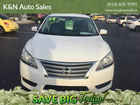 2014 Nissan Sentra for sale at K&N Auto Sales in Tampa FL