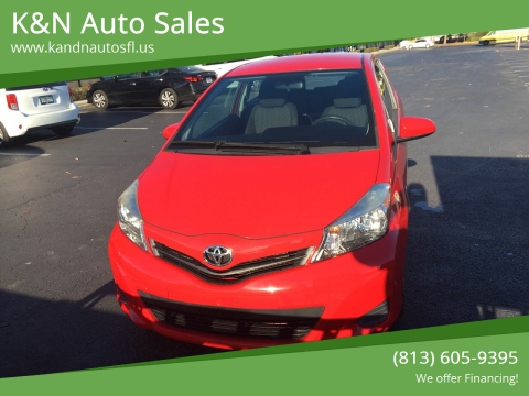 2014 Toyota Yaris for sale at K&N Auto Sales in Tampa FL