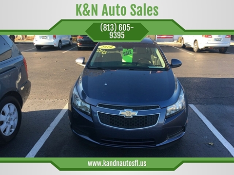2014 Chevrolet Cruze for sale at K&N Auto Sales in Tampa FL