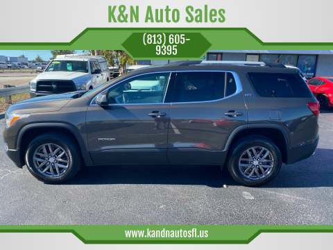 2019 GMC Acadia for sale at K&N Auto Sales in Tampa FL