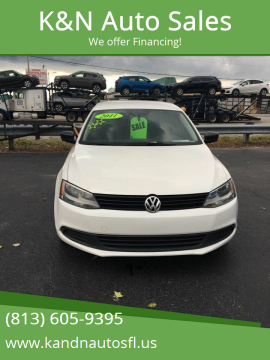 2011 Volkswagen Jetta for sale at K&N Auto Sales in Tampa FL