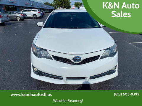 2013 Toyota Camry for sale at K&N Auto Sales in Tampa FL