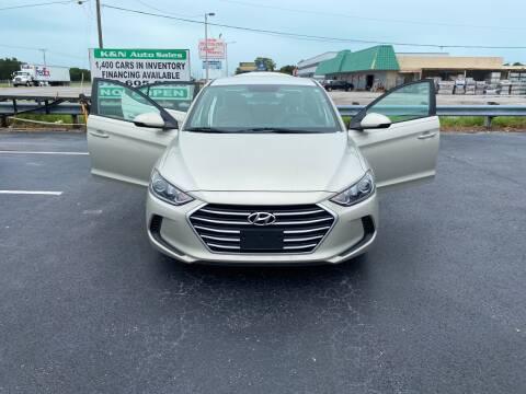 2017 Hyundai Elantra for sale at K&N Auto Sales in Tampa FL