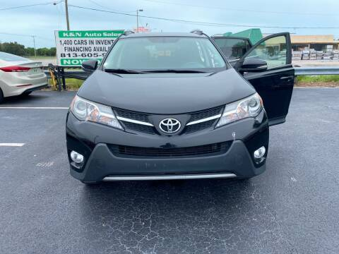 2015 Toyota RAV4 for sale at K&N Auto Sales in Tampa FL