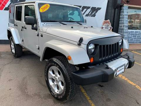 2008 Jeep Wrangler Unlimited for sale in Denver, CO