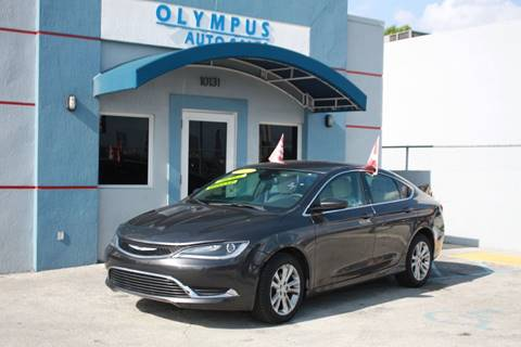 2016 Chrysler 200 for sale in Hialeah Gardens, FL