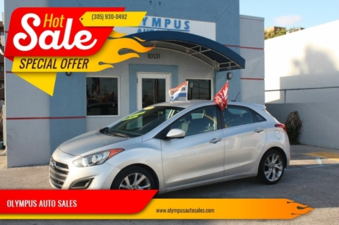 2017 Hyundai Elantra GT for sale in Hialeah Gardens, FL