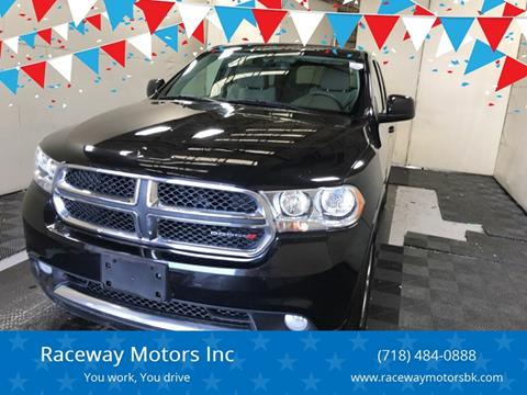 2013 Dodge Durango for sale at Raceway Motors Inc in Brooklyn NY
