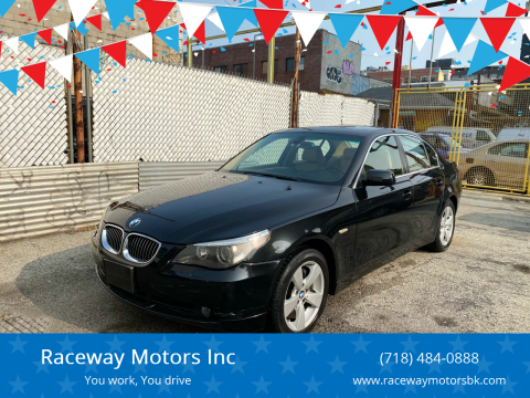 2007 BMW 5 Series for sale at Raceway Motors Inc in Brooklyn NY