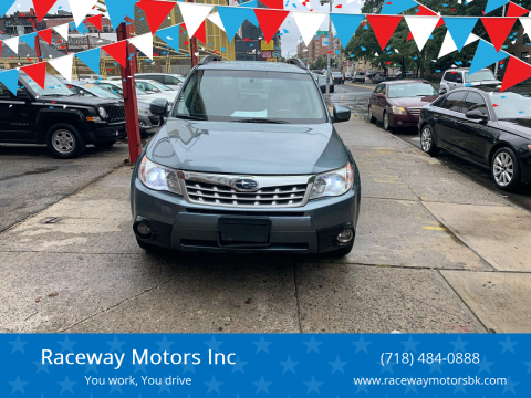 2013 Subaru Forester for sale at Raceway Motors Inc in Brooklyn NY