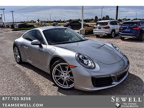 2018 Porsche 911 for sale in Midland, TX